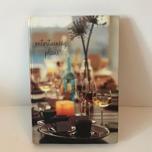2/$20  Entertaining Plans Book: Hardcover